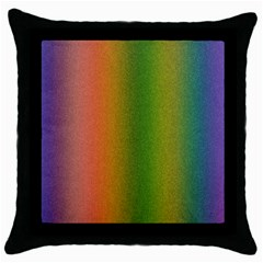 Colorful Stipple Effect Wallpaper Background Throw Pillow Case (black) by Simbadda