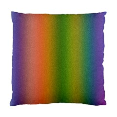 Colorful Stipple Effect Wallpaper Background Standard Cushion Case (two Sides) by Simbadda