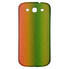 Colorful Stipple Effect Wallpaper Background Samsung Galaxy S3 S Iii Classic Hardshell Back Case by Simbadda