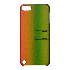 Colorful Stipple Effect Wallpaper Background Apple Ipod Touch 5 Hardshell Case With Stand by Simbadda