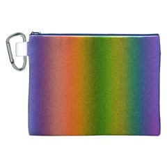 Colorful Stipple Effect Wallpaper Background Canvas Cosmetic Bag (xxl) by Simbadda