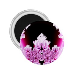 Fractal In Pink Lovely 2 25  Magnets by Simbadda