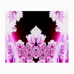 Fractal In Pink Lovely Small Glasses Cloth by Simbadda