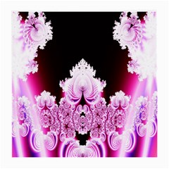 Fractal In Pink Lovely Medium Glasses Cloth by Simbadda