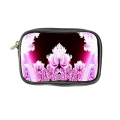 Fractal In Pink Lovely Coin Purse by Simbadda