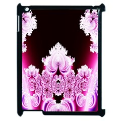 Fractal In Pink Lovely Apple Ipad 2 Case (black) by Simbadda