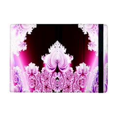 Fractal In Pink Lovely Apple Ipad Mini Flip Case by Simbadda