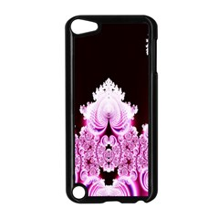 Fractal In Pink Lovely Apple Ipod Touch 5 Case (black) by Simbadda
