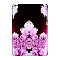 Fractal In Pink Lovely Apple Ipad Mini Hardshell Case (compatible With Smart Cover) by Simbadda