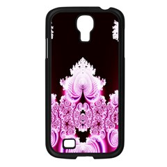 Fractal In Pink Lovely Samsung Galaxy S4 I9500/ I9505 Case (black) by Simbadda