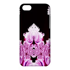Fractal In Pink Lovely Apple Iphone 5c Hardshell Case by Simbadda