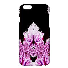 Fractal In Pink Lovely Apple Iphone 6 Plus/6s Plus Hardshell Case by Simbadda
