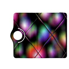 Soft Balls In Color Behind Glass Tile Kindle Fire Hdx 8 9  Flip 360 Case by Simbadda