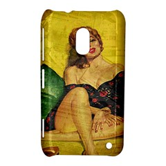 Pin Up Girl  Nokia Lumia 620 by Valentinaart