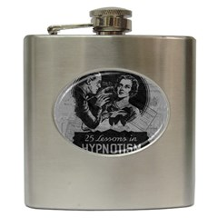 Vintage Hypnotism Hip Flask (6 Oz) by Valentinaart