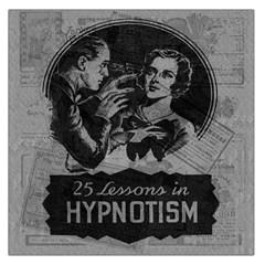 Vintage Hypnotism Large Satin Scarf (square) by Valentinaart