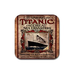 Titanic Rubber Coaster (square)  by Valentinaart