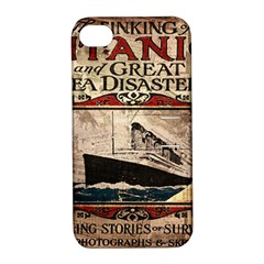 Titanic Apple Iphone 4/4s Hardshell Case With Stand by Valentinaart