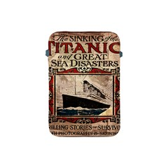 Titanic Apple Ipad Mini Protective Soft Cases by Valentinaart