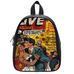 Love Stories School Bags (small)  by Valentinaart