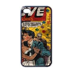 Love Stories Apple Iphone 4 Case (black) by Valentinaart
