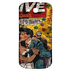 Love Stories Samsung Galaxy S3 S Iii Classic Hardshell Back Case by Valentinaart