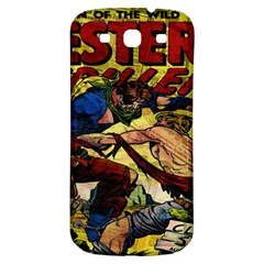 Western Thrillers Samsung Galaxy S3 S Iii Classic Hardshell Back Case by Valentinaart