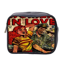 Woman In Love Mini Toiletries Bag 2 Side by Valentinaart