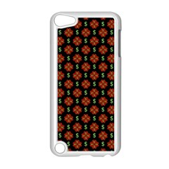 Dollar Sign Graphic Pattern Apple Ipod Touch 5 Case (white) by dflcprints