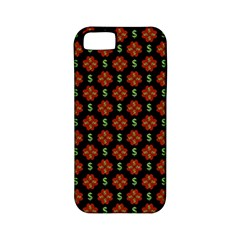 Dollar Sign Graphic Pattern Apple Iphone 5 Classic Hardshell Case (pc+silicone) by dflcprints