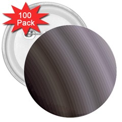 Fractal Background With Grey Ripples 3  Buttons (100 Pack)  by Simbadda