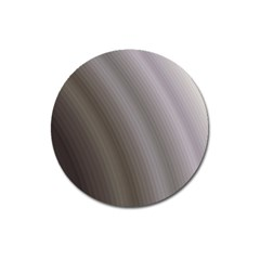 Fractal Background With Grey Ripples Magnet 3  (round) by Simbadda