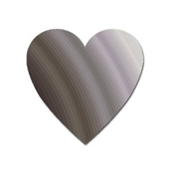 Fractal Background With Grey Ripples Heart Magnet by Simbadda
