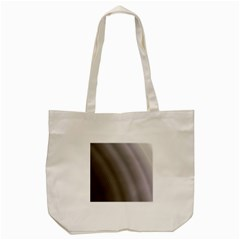 Fractal Background With Grey Ripples Tote Bag (cream) by Simbadda