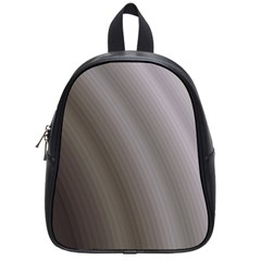Fractal Background With Grey Ripples School Bags (small)  by Simbadda