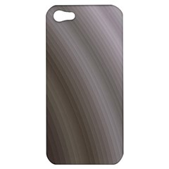 Fractal Background With Grey Ripples Apple Iphone 5 Hardshell Case