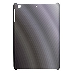 Fractal Background With Grey Ripples Apple Ipad Mini Hardshell Case by Simbadda