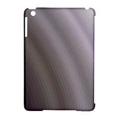 Fractal Background With Grey Ripples Apple Ipad Mini Hardshell Case (compatible With Smart Cover) by Simbadda