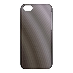 Fractal Background With Grey Ripples Apple Iphone 5c Hardshell Case by Simbadda