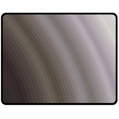 Fractal Background With Grey Ripples Double Sided Fleece Blanket (medium)  by Simbadda