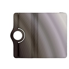 Fractal Background With Grey Ripples Kindle Fire Hdx 8 9  Flip 360 Case by Simbadda