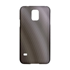 Fractal Background With Grey Ripples Samsung Galaxy S5 Hardshell Case  by Simbadda