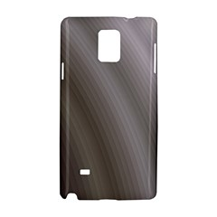 Fractal Background With Grey Ripples Samsung Galaxy Note 4 Hardshell Case by Simbadda