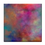 Rainbow Clouds Tile Coaster