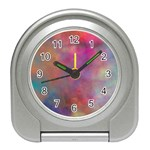 Rainbow Clouds Travel Alarm Clock