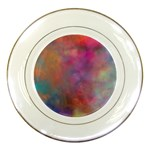 Rainbow Clouds Porcelain Plate