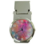 Rainbow Clouds Money Clip Watch