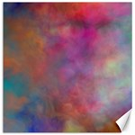 Rainbow Clouds Canvas 16  x 16