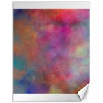 Rainbow Clouds Canvas 18  x 24