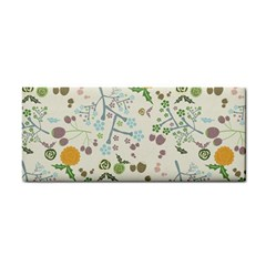 Floral Kraft Seamless Pattern Cosmetic Storage Cases by Simbadda